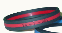 01 Thin Red Line Wristband For Firefighters